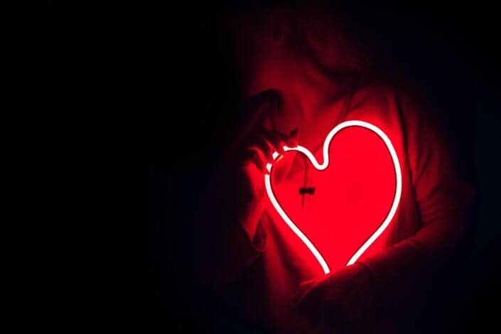 Good Night Text For Her -heart