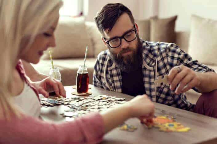 at home date ideas - board games