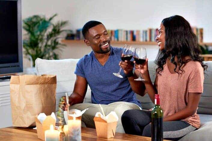 at home date ideas - get to know