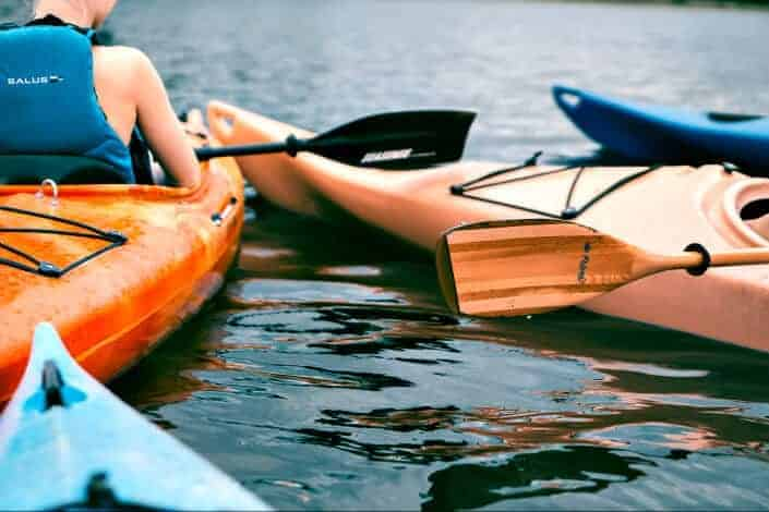 cheap date ideas - kayak and canoe