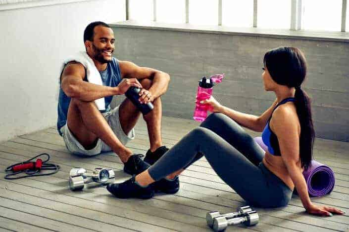 work out together
