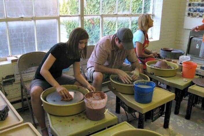 date night ideas - pottery class