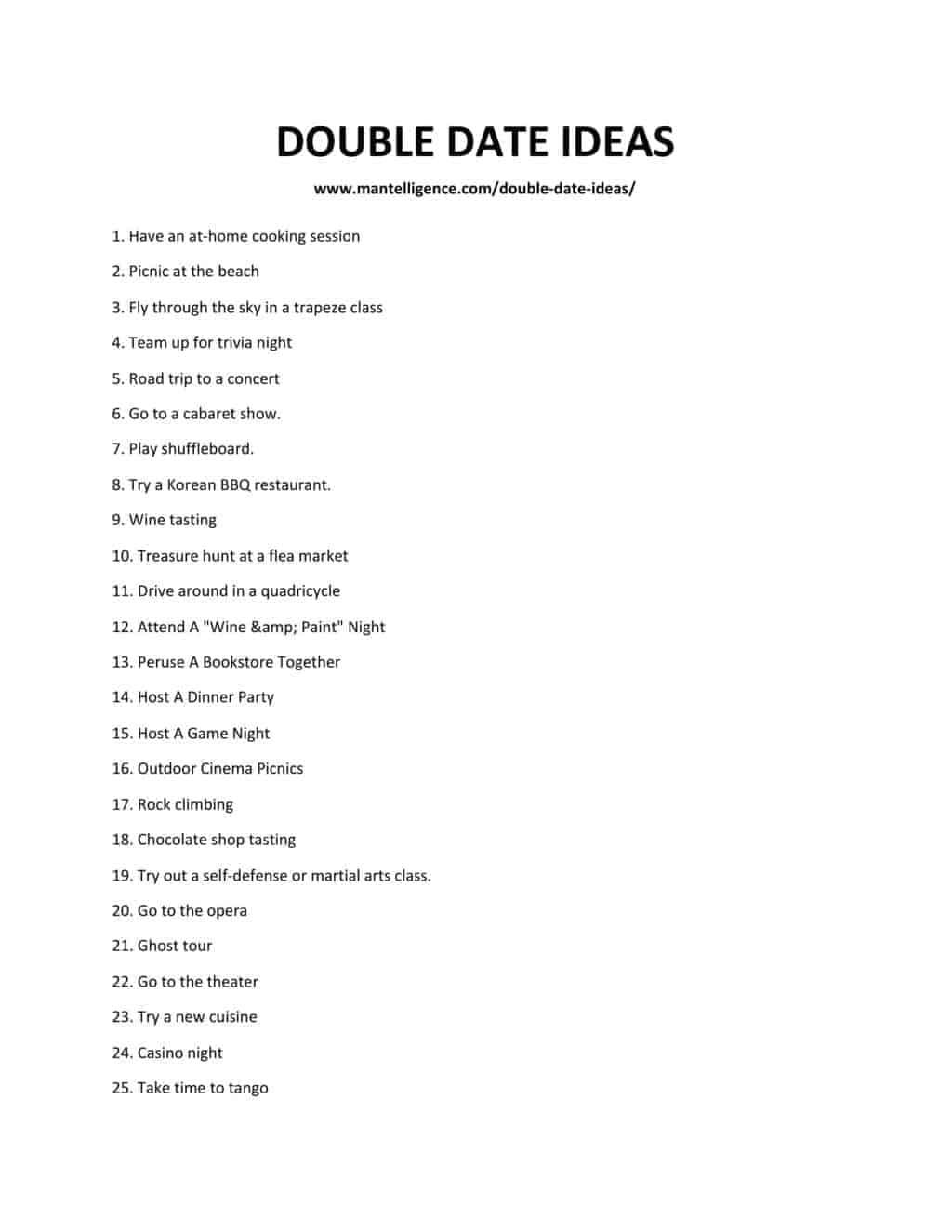 DOUBLE DATE IDEAS-1