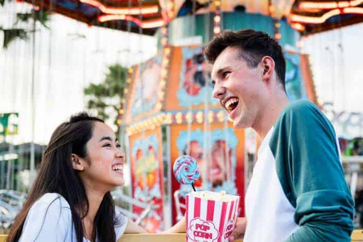 date ideas - amusement park