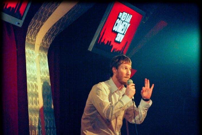 fun date night ideas - comedy show