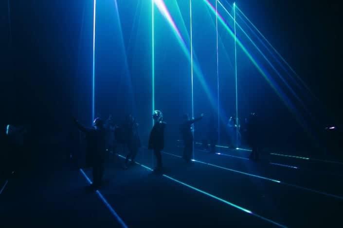 fun date night ideas - laser quest Unsplash/Artem Bryzgalov
