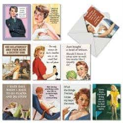 stocking stuffers - retro greeting card