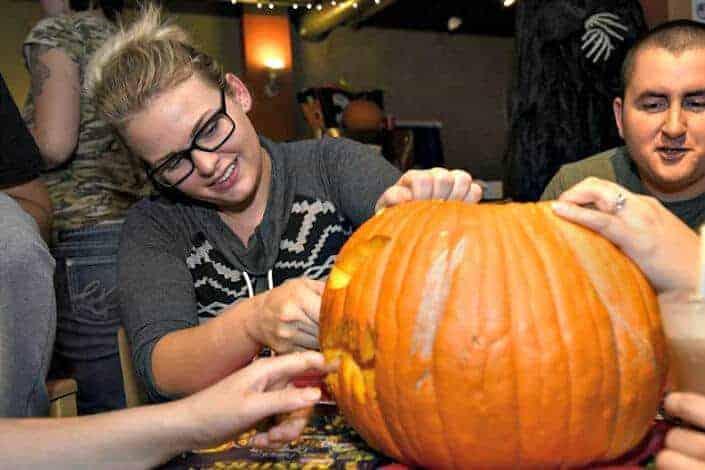 unique date ideas - pumpkin