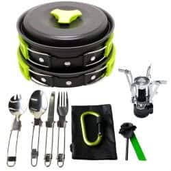 cheap christmas gifts-Camping Cookware Mess Kit