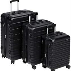 christmas gifts for dad - AmazonBasics Hardside Spinner Luggage
