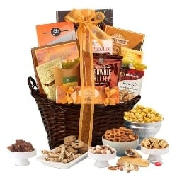 Chocolate and Snacks Gift Basket (1)