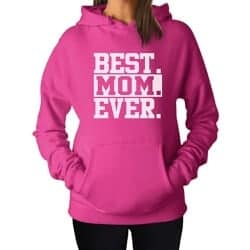 Christmas Gift Ideas For Wife - Best Mom Ever! Women's Hoodie