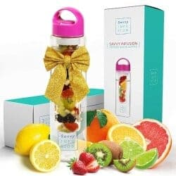 Christmas Gift Ideas For Wife - Savvy Infusion Water Bottles