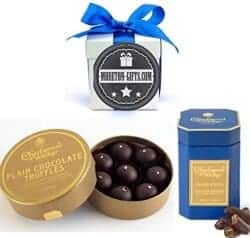 Christmas Gifts For Girlfriend - Charbonnel Et Walker Plain Chocolate Truffles And Ginger Thins Collection