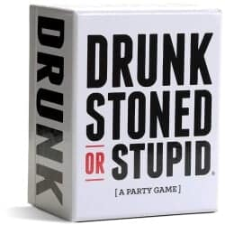 Christmas Gifts For Girlfriend - DRUNK STONED OR STUPID [A Party Game]