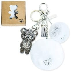 Christmas Gifts For Girlfriend - Furball Keychain