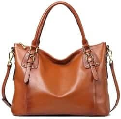 Christmas Gifts For Girlfriend - Leather Tote Shoulder Bag