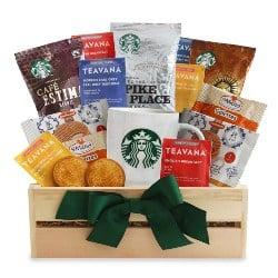Starbucks Gift Basket (1)