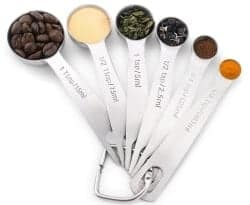 Stocking Stuffers For Her - 1Easylife 18 8 Stainless Steel Measuring Spoons