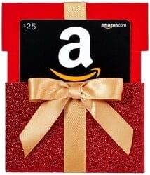 Stocking Stuffers For Her - Amazon.Com Gift Card In A Red Gift Box Reveal