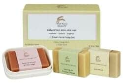 Stocking Stuffers For Her - Beauty Travel Facial Soap Set