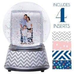 Stocking Stuffers For Her - Create Your Own Photo Snow Globe