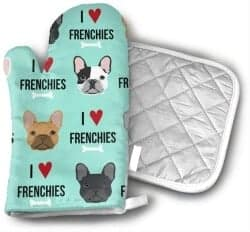 Stocking Stuffers For Her - Frenchie Oven Mitt
