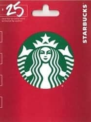 Stocking Stuffers For Her - Starbucks Gift Card