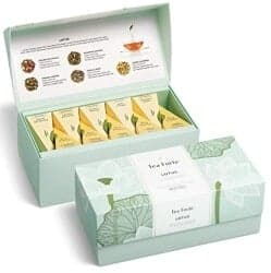 Stocking Stuffers For Her - Tea Forté LOTUS Presentation Box Tea Sampler
