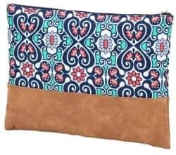Stocking Stuffers For Her - VIV & LOU High Fashion Zippered Pouch