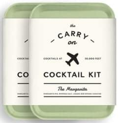 Stocking Stuffers For Her - W&P MAS-CARRY-MG-2 Carry On Cocktail Kit