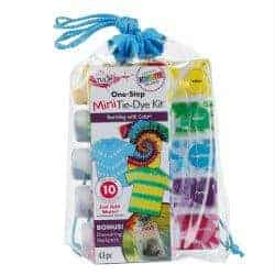 cheap stocking stuffers - mini tie dye kit