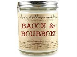 stocking stuffers for men - bourbon candle