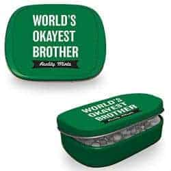 stocking stuffers for men - okayest brother mint