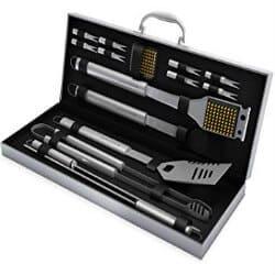 24 BBQ Grill Tool Set