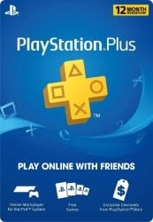 Christmas Gifts for Brother - 1 Year Playstation Plus PSN Membership Card