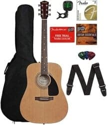 Christmas Gifts for Brother - Acoustic Guitar Bundle With Gig Bag