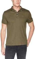 Christmas Gifts for Brother - Calvin Klein Men's Liquid Touch Polo Solid
