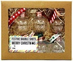Christmas Gifts for Brother - Christmas Boozy Baubles