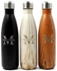 Christmas Gifts for Brother - Customized Engraved Double Walled Stainless Steel Water Bottle