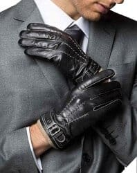 Christmas Gifts for Brother - Lambskin Leather Gloves