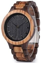 Christmas Gifts for Brother - Mens Wooden Watch
