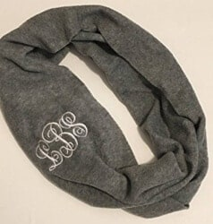 Christmas Gifts for Brother - Personalized Infinity Scarf