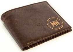 Christmas Gifts for Brother - Personalized Mens Wallet