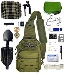 Christmas Gifts for Brother - Survival Bundle With 26 Pc Survival Kit