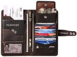Christmas Gifts for Brother - Travel Wallet With RFID