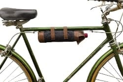 Leather Bicycle Wine Carrier (1)