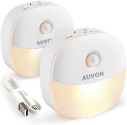 Rechargeable Motion Sensor Toilet Night Light (1)