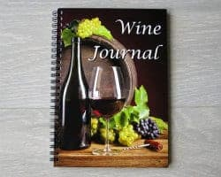 gifts for wine lovers - wine journal