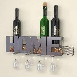 gifts for wine lovers - wine rack